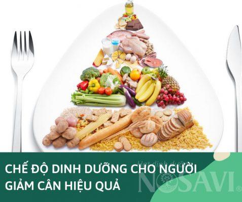 Dinh dưỡng cho người giảm cân hiệu quả